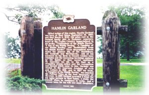 Hamlin Garland Sign